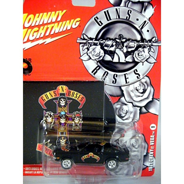 Johnny Lightning Rock Art Guns N Roses 1971 Chevy Vega
