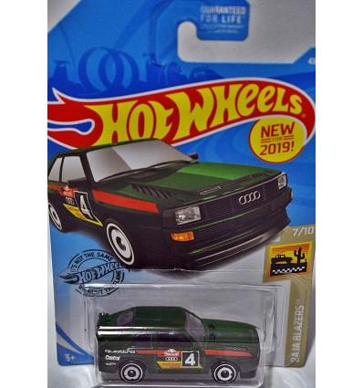 Hot Wheels 2019 New Models - 1984 Audi Sport Quattro