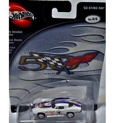 Hot Wheels 100% Series - Chevrolet Corvette SR2