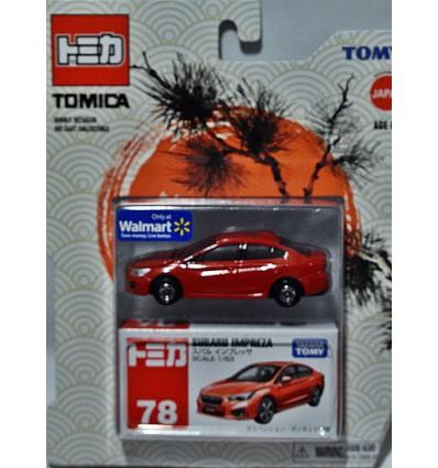 Tomica - Subaru Impreza