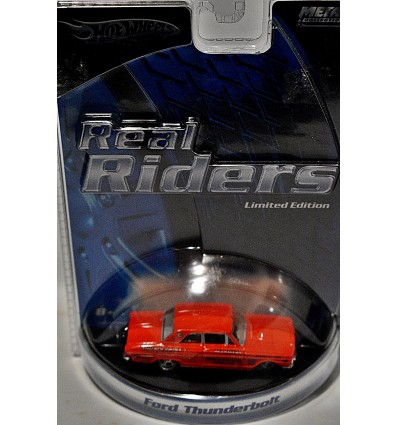 Hot Wheels Real Riders Series - Ford Thunderbolt NHRA Race Car