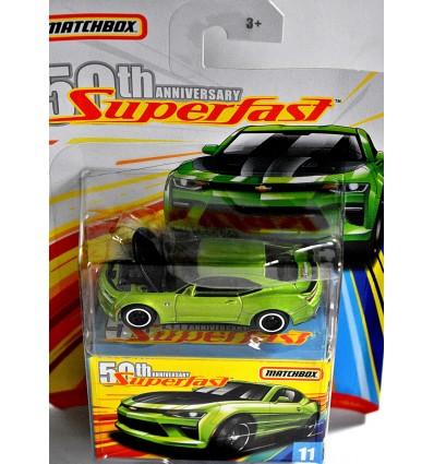 Matchbox - 50th Anniversary Superfast - Chevrolet Camaro Coupe