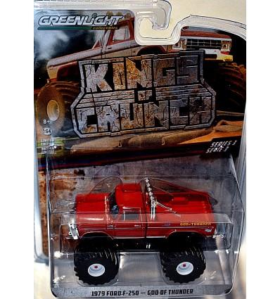 Greenlight - Kings of Krunch - GOD of THUNDER 1974 Ford F-250