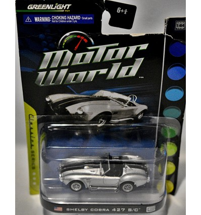 Greenlight Motor World Shelby Cobra 427 S/C