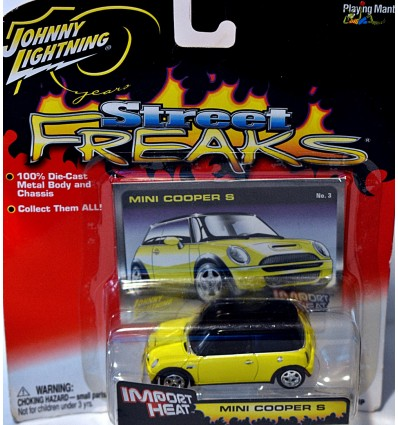 Johnny Lightning Import Heat Mini Cooper S
