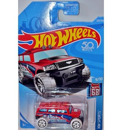 Hot Wheels - Ski Team Hummer