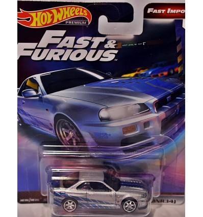 Hot Wheels Fast & Furious - Nissan Skyline GT-R (BNR-34)