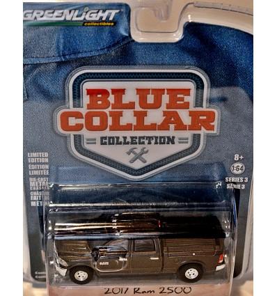Greenlight - Blue Collar -1963 Dodge D-100 Contractors Truck