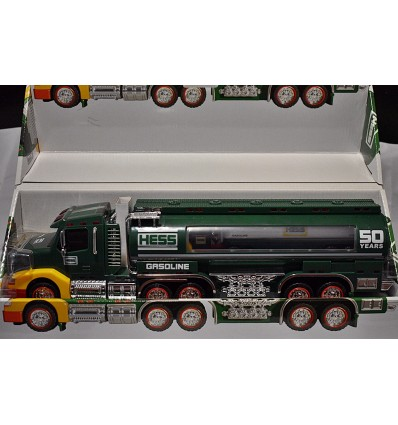 Hess - 50th Anniversary Hess Tanker Truck set - 2 Trucks