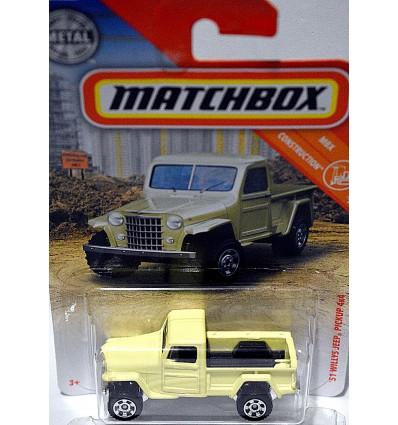 Matchbox - 1953 Jeep Willys Pickup Truck
