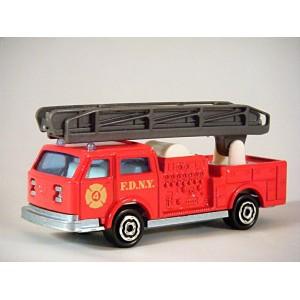 Majorette - FDNY Fire Department Ladder Truck