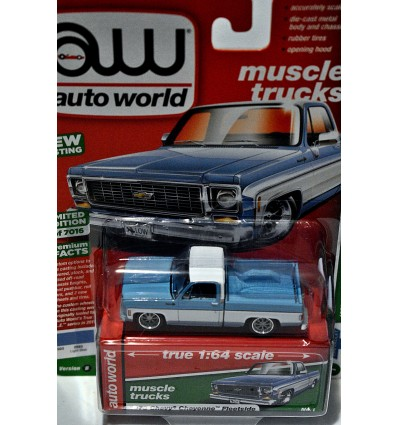 Auto World - 1975 Chevrolet Cheyenne Fleetside Pickup Truck