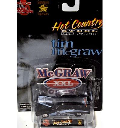 Racing Champions Hot Country Steel - Tim McGraw 1969 Chevrolet Camaro