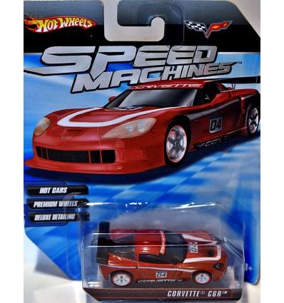 Hot Wheels Speed Machines Chevrolet Corvette C6R