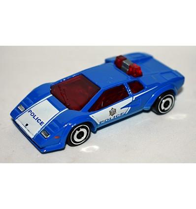 Hot Wheels - Lamborghini Countach Police Patrol Car