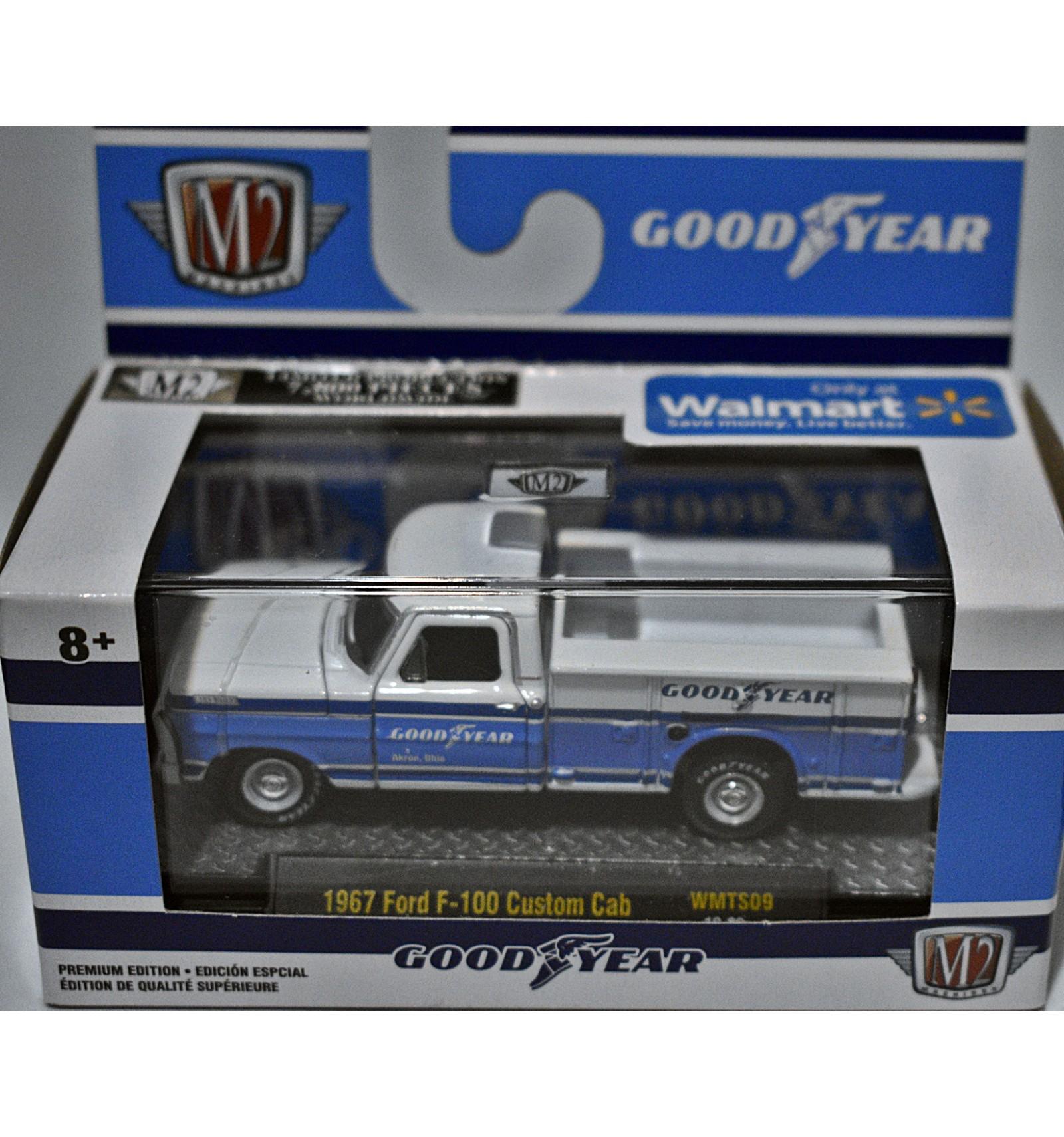 M2 Goodyear 1967 Ford F 100 Custom Cab Goodyear Service Truck Global Diecast Direct