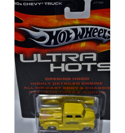 Hot Wheels Ultra 1950s Chevrolet Pugnose Crew Cab Pickup Truck