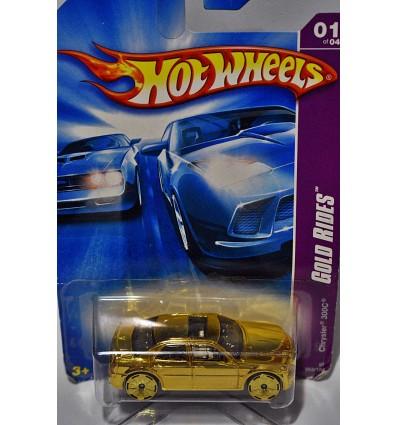 Hot Wheels - Chrysler 300C - Gold Rides