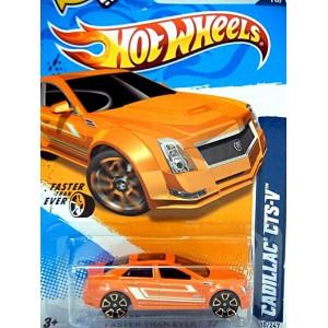 Hot Wheels Cadillac CTS-V Sport Sedan (FTE Wheels)
