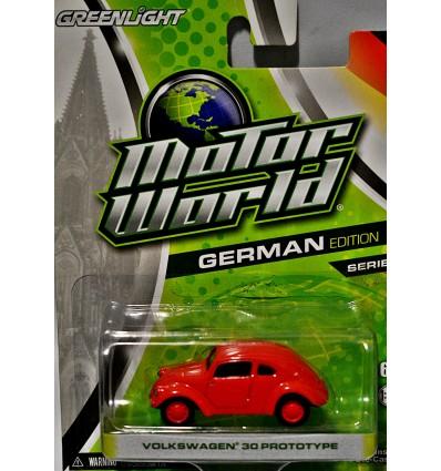 Greenlight Motor World Volkswagen Beetle 30 Prototype