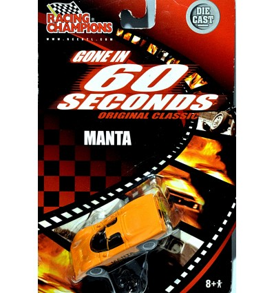 Racing Champions Gone in 60 Seconds Manta Mirage