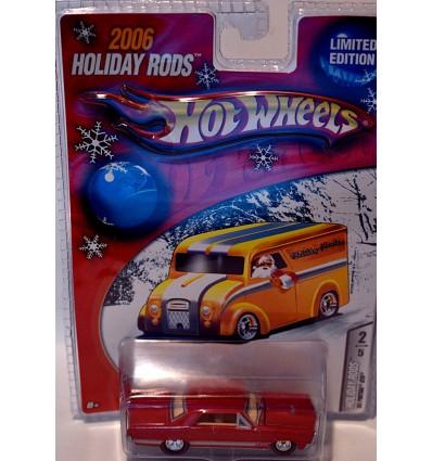Hot Wheels 2006 Holiday Rods - 1965 Pontiac GTO