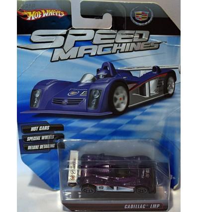 Hot Wheels Speed Machines Cadillac LMP Race Car