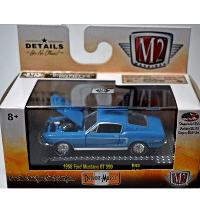 M2 Machines Detroit Muscle - 1968 Ford Mustang GT 390