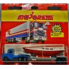 Majorette 300 Series -Semi-Boat Carrier with Sailing Yacht