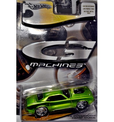 Hot Wheels G Machines - 1970 Plymouth Hemi Cuda
