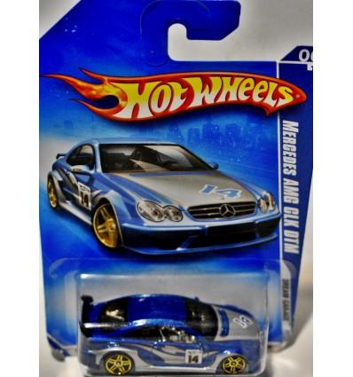 Hot Wheels - AMG-Mercedes CLK DTM