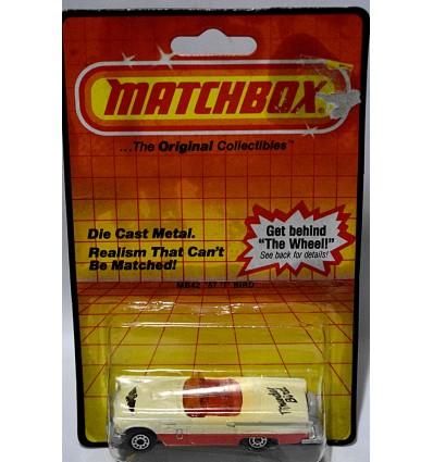 Matchbox - 1957 Ford Thunderbird