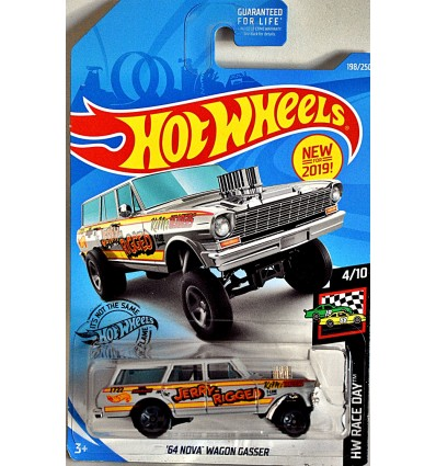 Hot Wheels - 1964 Chevrolet Nova Gasser - Jerry Rigged
