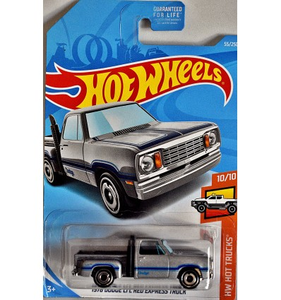 Hot Wheels - 1978 Dodge Lil Red Express Pickup Truck