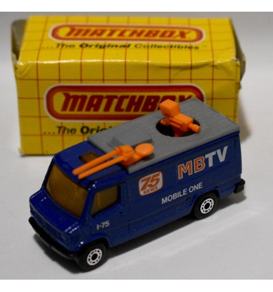 Matchbox TV News Satellite Radar Truck