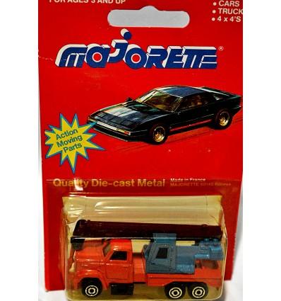 Majorette Mobile Crane Truck