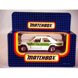 Matchbox Mercedes-Benz 300E Polizei - Police Car (Interesting Variation)