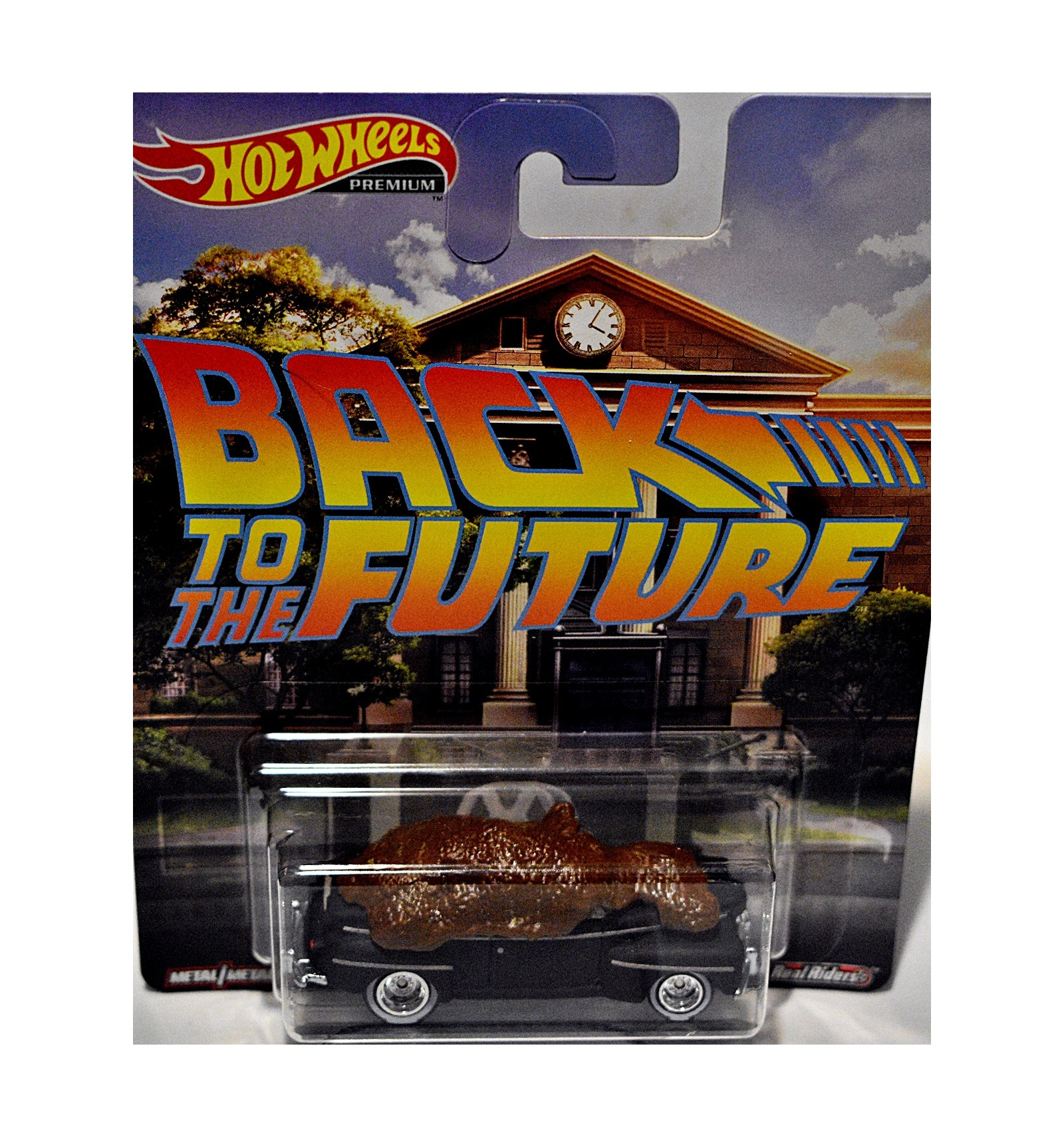 Hot Wheels Premium Back To The Future Biff S 1946 Ford Super Deluxe Convertible Global Diecast Direct