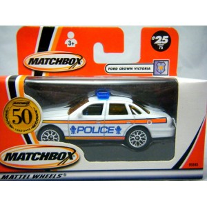 Matchbox Ford Crown Victoria Police Car Australian Release