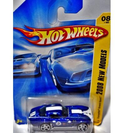 Hot Wheels 2008 New Model Series: Chevrolet Corvette Gran Sport