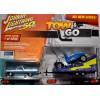 Johnny Lightning - Tow & Go - 1965 Chevrolet El Camino with Hot Rod Parade Float