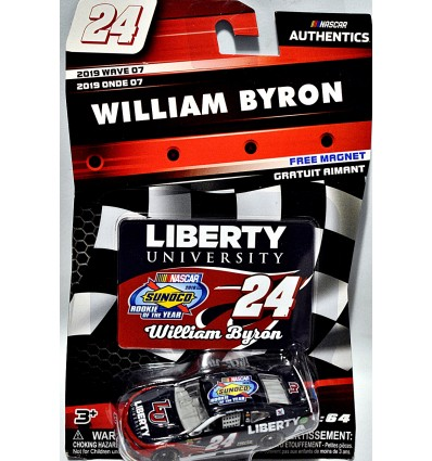 Lionel NASCAR Authentics - William Byron Sunoco Rookie of the Year Liberty University Chevrolet Camaro