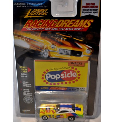 Johnny Lightning Racing Dreams 1972 Dodge Charger Popsicle Funny Car