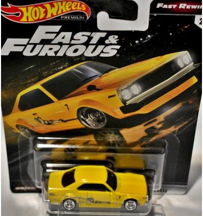 Hot Wheels Fast & Furious - Nissan Skyline GT-R (BCNR33)