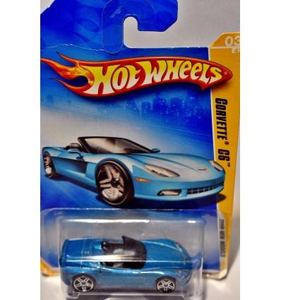 Hot Wheels 2009 New Model Series: Chevrolet Corvette C6 Convertible
