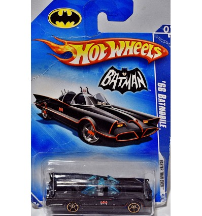 Hot Wheels - Faster Than Ever Wheels - Batmobile