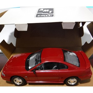 AMT Dealer Promo: 25th Anniversary 1994 Ford Mustang GT (Laser Red)