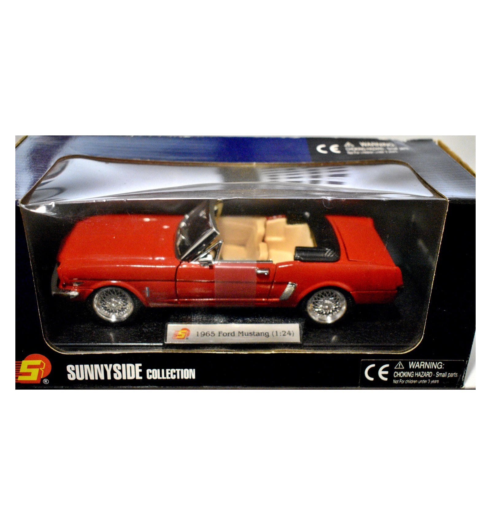 Sunnyside 1965 Ford Mustang Convertible Global Diecast Direct