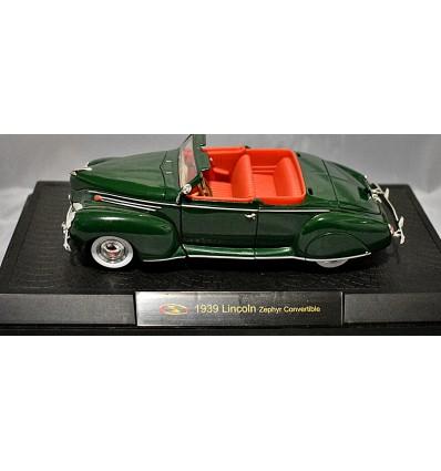 Signature Models - 1939 Lincoln Zephyr Convertible