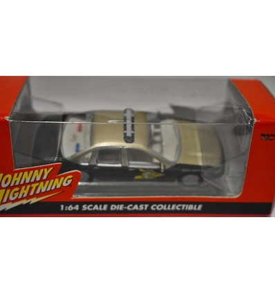 Johnny Lightning - American Blue - White Lightning Chase Car - New Hampshire State Trooper Chevrolet Caprice